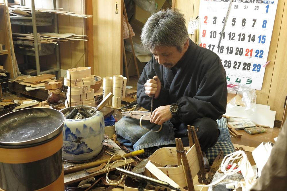 伝統工芸品「尾鷲わっぱ」の工房見学ができます!_写真1