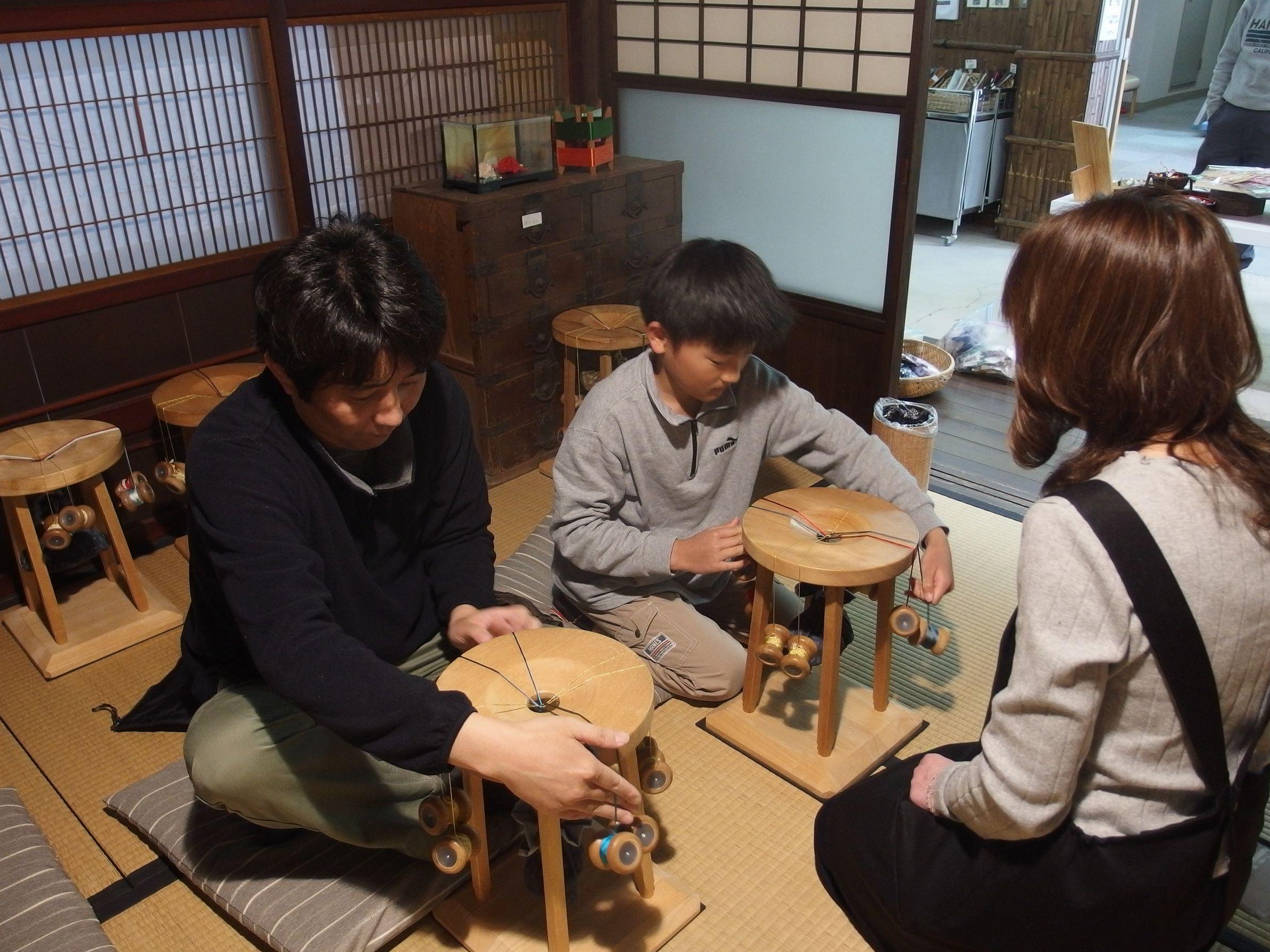 伝統的工芸品「伊賀くみひも」が体験できます。_写真1